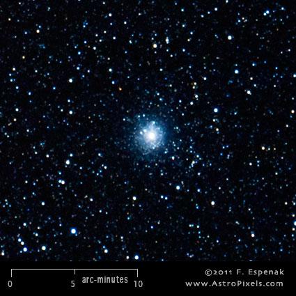 Messier 54 - M54 - Globular cluster | Free Star Charts