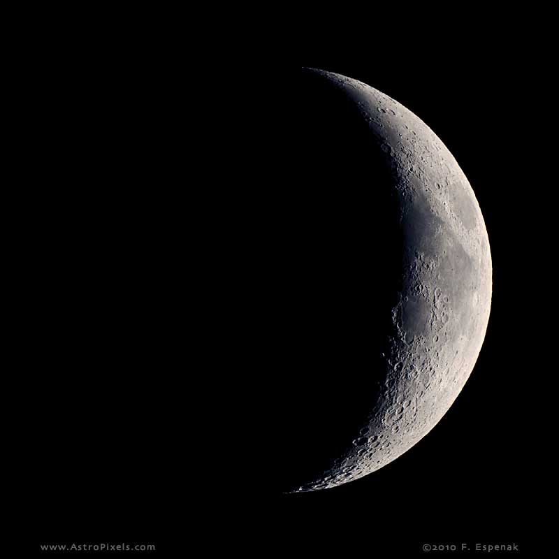 Waxing Crescent Moon - 5.0 days
