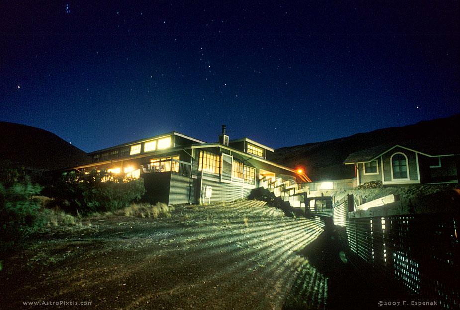 Hale Pukaku at Night