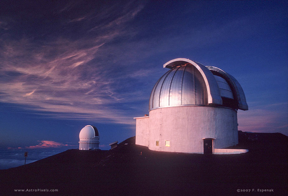 United Kingdom and Canada France Hawaii Telescopes at ...