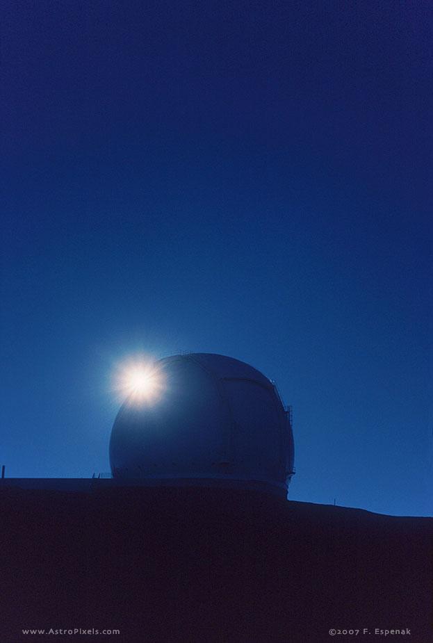 W. M. Keck Observatory and Sunburst