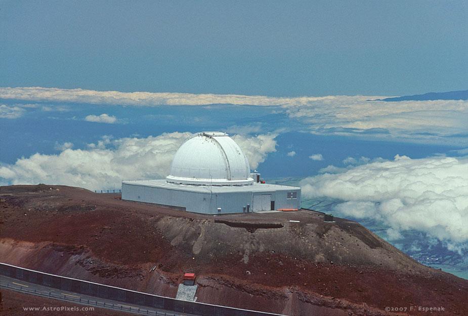 NASA Infrared Telescope Facility (IRTF) Atop Mauna Kea