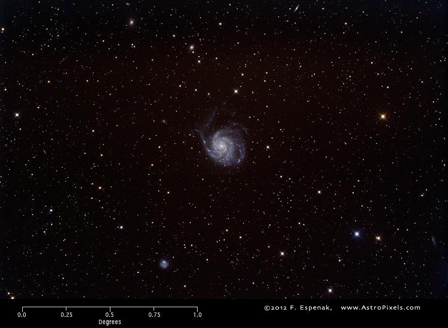 Messier 101 - M101 - Pinwheel Galaxy